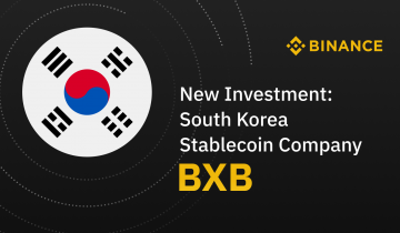 Binance Invests in Korea-Based Stablecoin Company BxB