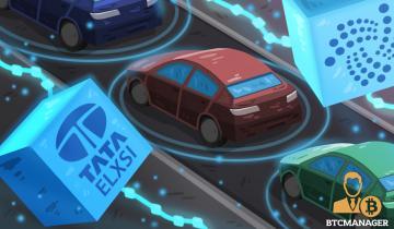 Tata Elxsi Chooses IOTA Over Ethereum for DLT-Based Vehicle-to-Vehicle Communication