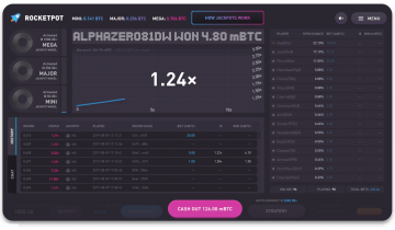 Rocketpot Offers a New Flavor of Bitcoin Gambling