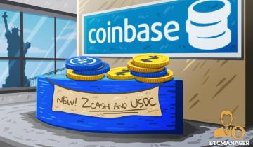 Coinbase Crypto Exchange Now Supports USDC and Zcash for New York Traders