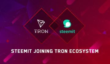 Steemit Joining TRON Ecosystem