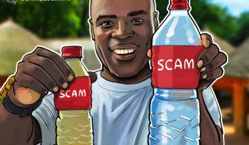 Minority Communities Targeted By Crypto Bottled Water Scam