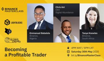 Join Us at the Binance MasterClass for Africa