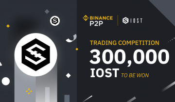 Trade Nigeria Naira (NGN) on Binance P2P - 300,000 IOST Tokens to be Won!