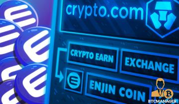 Crypto.com Adds Enjin Coin (ENJ) to Earn and Exchange