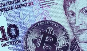 Argentinas currency joins Lebanese Lira in slump to satoshi parity