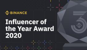 Binance Awards 2020 - Binance Influencer of the Year