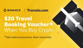 Earn a $20 Travel Booking Discount Voucher Now