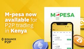 Binance P2P: Buy Bitcoin in Kenya via M-Pesa