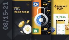Binance Weekly Report: Saving Crypto