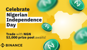 Celebrate Nigerian Independence, Crypto-Style. Trade with NGN, a $2,000 Prize Pool Awaits!