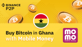 Binance P2P: Buy Bitcoin in Ghana with Mobile Money