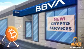 Spain: BBVA Bank to Support of Crypto Trading and Custody Is Imminent