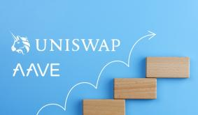 Uniswap, Aave Inching Closer to Top 10 as Chainlink Keeps Setting New Highs
