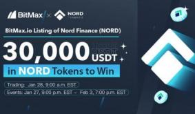 Nord Finance (NORD) to be Listed on BitMax.io