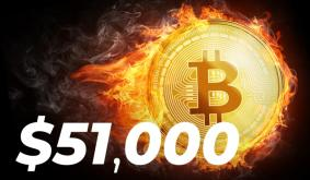 Bitcoin Just Surpassed $51,000 Level: Possible Reasons