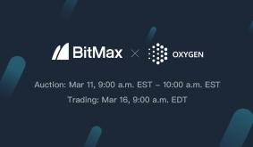 Oxygen Protocol to List OXY Tokens on BitMax