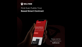 First-Ever Public Tron-based Smart Contract