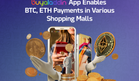 Buyaladdin App Enables BTC, ETH Payments in Various Shopping Malls