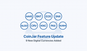 Aave, Curve, EOS, Sushiswap, Synthetix & 4 other new digital currencies are now available for trading on CoinJar!