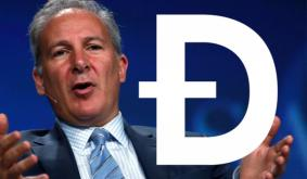 Peter Schiff Expects DOGE to Hit $1, Suggests Wearing Laser Beams on Twitter Avatars
