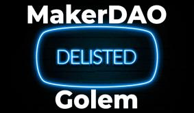 MakerDAO (MKR), Golem (GNT) Pairs Delisted by Bitfinex. What's the Reason?