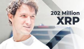 Jed McCaleb Shifts 202 Million XRP Over Past 10 Days While XRP Keeps Holding Above $1