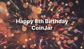 It's CoinJar's 8th Birthday!