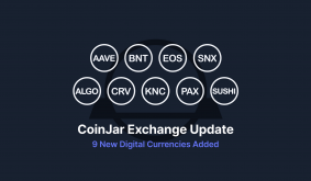 9 new cryptocurrencies are available for trading on CoinJar Exchange!