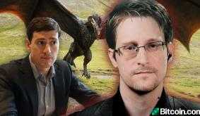 Edward Snowden Knocks Alex Gladstein's Crypto Critique- Worst Part of Dragon-Level Wealth Is People Devolve Into Dragons Themselves