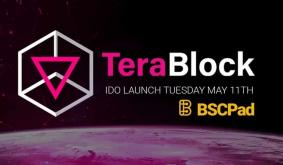 TeraBlock Will Launch Its Initial DEX Offering on BSCPad at May 11