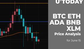 BTC, ETH, ADA, BNB and XLM Price Analysis for June 15
