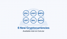MATIC, USDT, BAL, WBTC + 3 more cryptocurrencies now available for trading on CoinJar