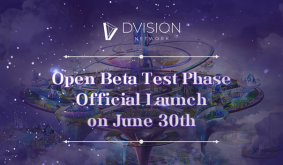Dvision Networks Open Beta Test (OBT) is Going Live on 30th June 2021!