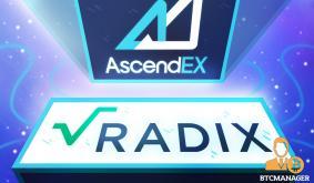 AscendEX Lists Radix