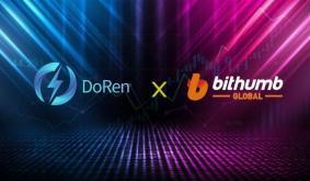 DOREN Blockchain Scores Bithumb Global for First Listing