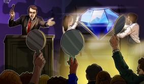 Winner spends fortune in crypto on Sothebys diamond auction