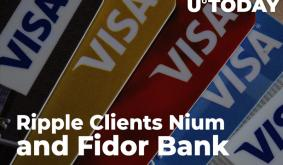 Ripple Clients Nium and Fidor Bank Partner with Visa and PayDo App to Set Up Better Payment Systems