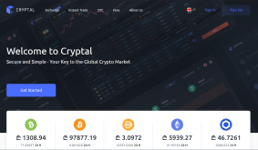 Cryptal Enables Fast And Instant Crypto Trading
