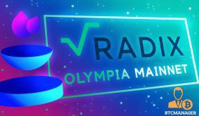 Radix Launches Olympia Mainnet as DeFi Climbs Back to $65 Billion TVL