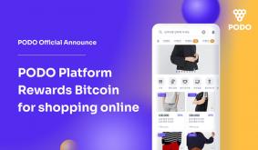 PODO Platform Rewards Bitcoin for Shopping Online