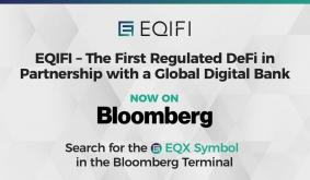 EQIFI, the First Decentralized Protocol in Partnership with a Global Bank Now Available on the Bloomberg Terminal