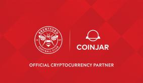 CoinJar x Brentford FC: were sponsoring the Bees.