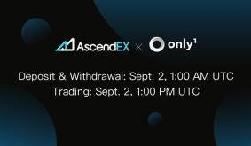 Only1 Lists on AscendEX