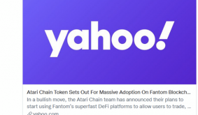 Atari Chain Announces it Will Start Using Fantom and Sees a 72% Increase for its Token (ATRI)