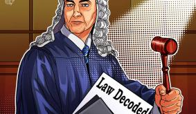 Law Decoded: Hodling like a state