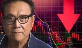 Rich Dad Poor Dad's Robert Kiyosaki Predicts 'Giant Stock Market Crash' in October — Says 'Bitcoin May Crash Too'