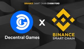 Binance Smart Chain Funds Decentral Games Via its $100 million Accelerator Program