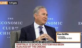 """Ken Griffin Says Chicago Violence Like """"Afghanistan On A Good Day"""", Claims Crypto Is """"Jihadist"""" Attack On The Dollar"""