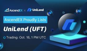 UniLend Lists on AscendEX